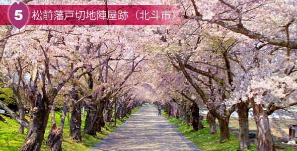5 松前藩戸切地陣屋跡(北斗市)