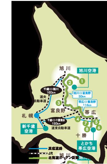 北海道MAP