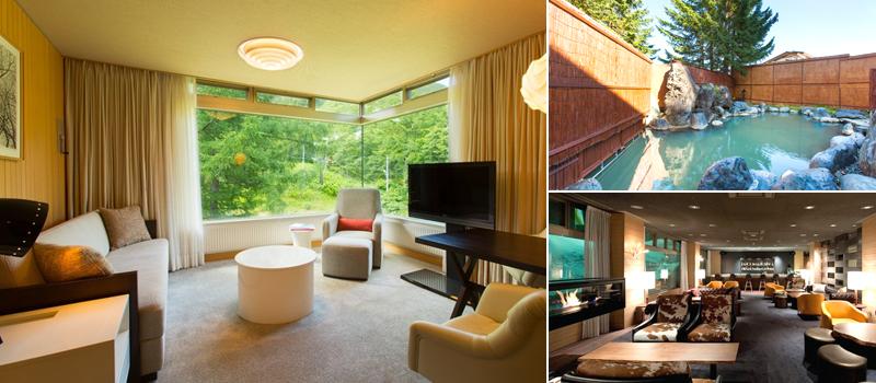 ザ・グリーンリーフ・ニセコビレッジの客室、温泉、館内のイメージ