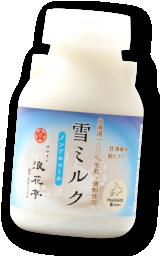 すすきの浪花亭(札幌市)の雪ミルク