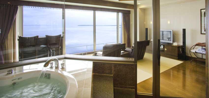 サロマ湖鶴雅 客室