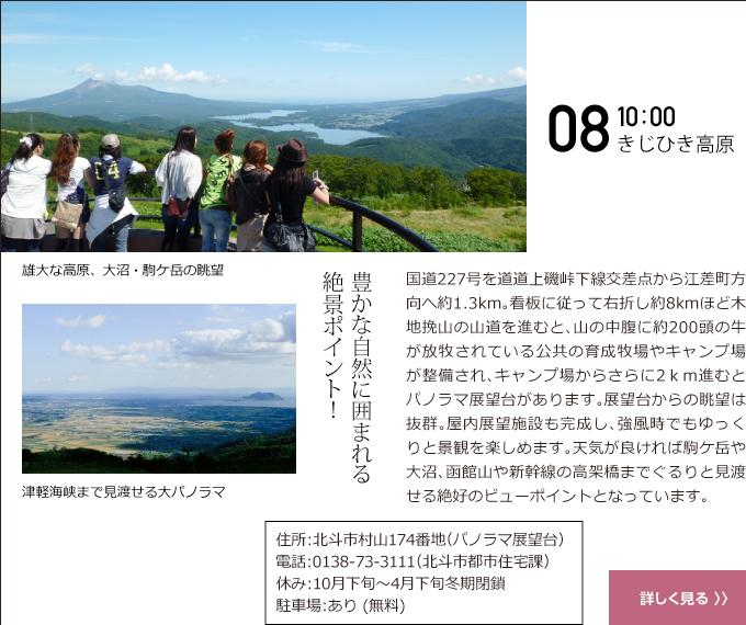 08 10:00 きじひき高原