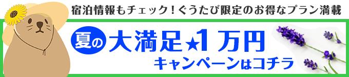 夏の大満足1万円キャンペーンはコチラ