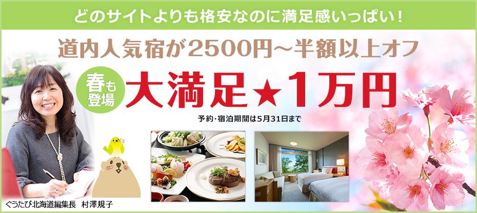 どのサイトよりも格安 春の大満足1万円プラン