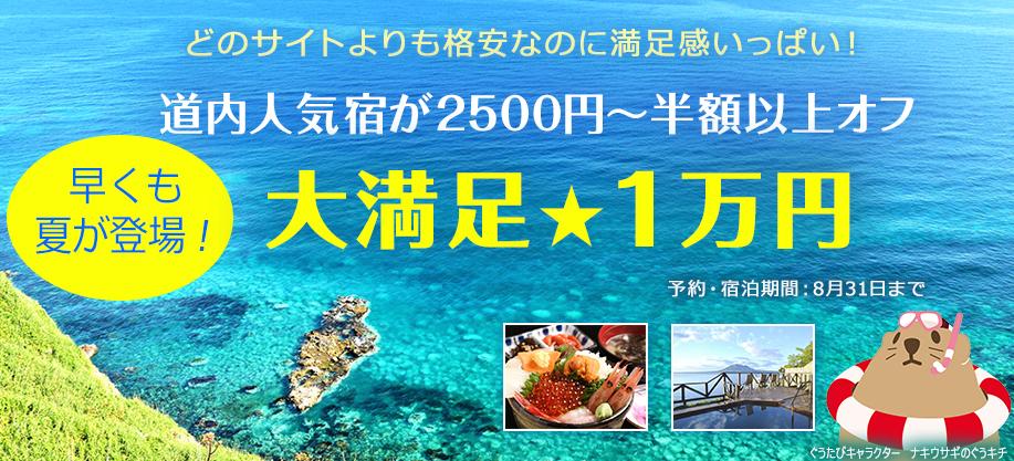 どのサイトよりも格安 大満足1万円プラン