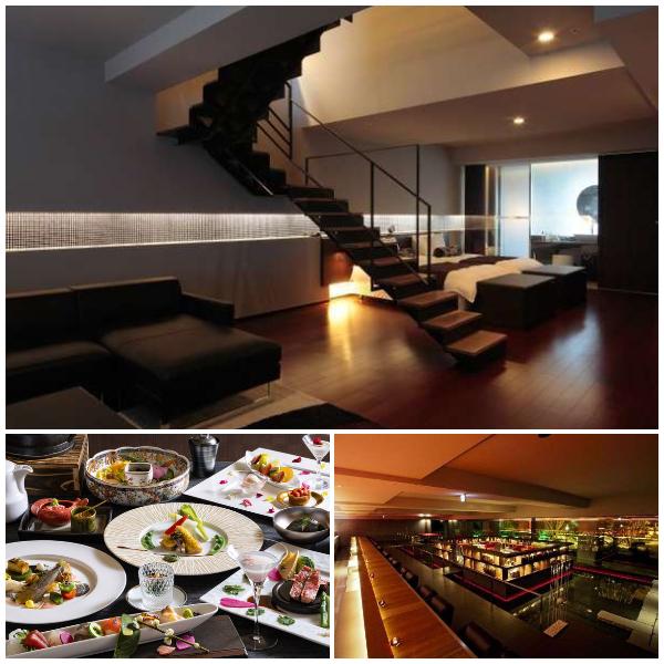 望楼NOGUCHI函館の客室、お食事、温泉