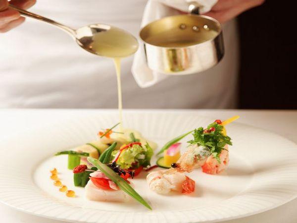 北海道ホテルの料理一例