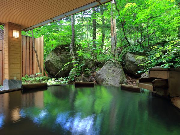 朝陽リゾートホテルの露天風呂
