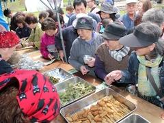 富士見ヶ丘公園開き 山菜まつり